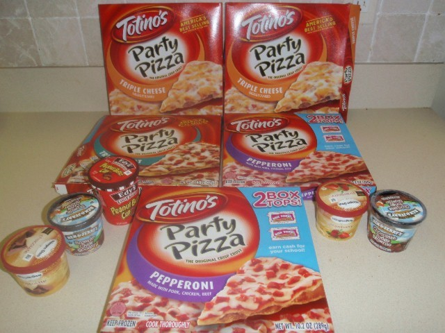 frozen food for sale